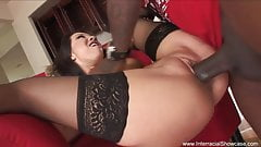 Asian And BBC Have Wild Interracial Sex