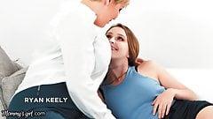Hot Step-MILF Ryan Keely Has A Facesitting Threeway